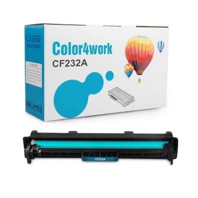 Color4work Compatible Drum Unit Replacement for HP 32A CF232A Imaging Drum 1-Pack, use for HP Laserjet M203, MFP M227fdw, M227fdn, M148fdw, M148dw, M118dw Printer