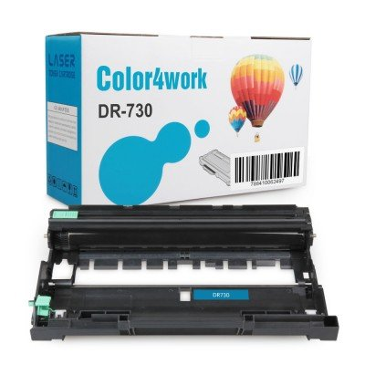 Color4work Compatible Drum Unit Brother DR730 DR-730 1-Pack, use for Brother HL-L2350DW DCP-L2550DW MFC-L2710DW MFC-L2750DW HL-L2395DW HL-L2390DW HL-L2370DW Printer
